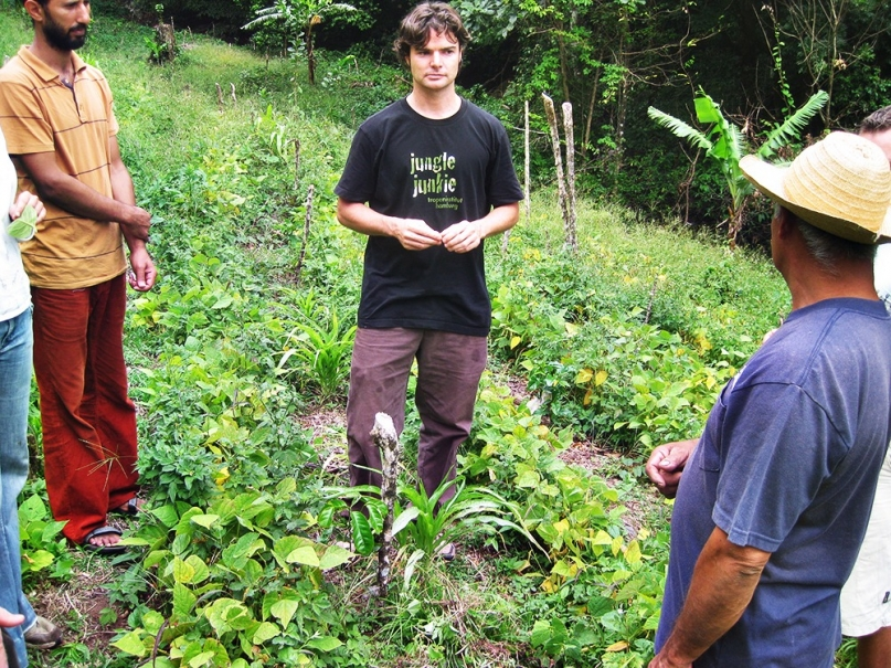 Patrick McGreer, co-founder of the Lost and Found hostel in Panama