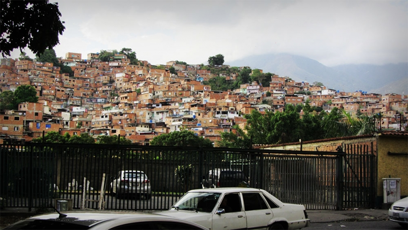 Barrios of Caracas Venezuela