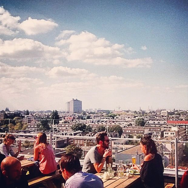 Canvas Amsterdam Roof Terrace